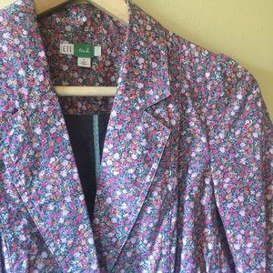 ETT // Ewa Anthropologie Floral Cotton Blazer // 4